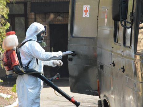В Украине заразился коронавирусом третий военнослужащий