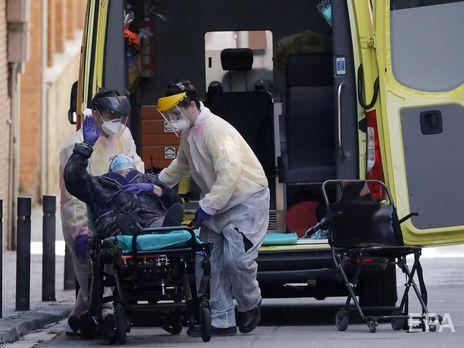 Количество инфицированных коронавирусом в Испании превысило 140 тыс., за сутки умерло 743 человека