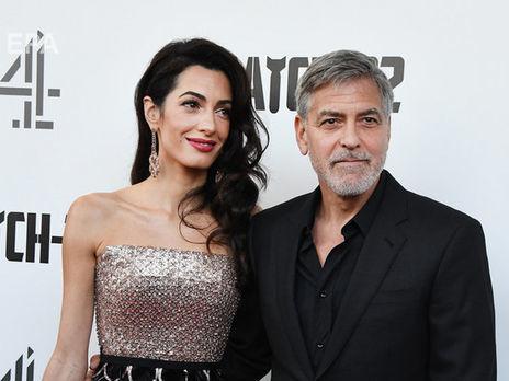 Джордж и Амаль Клуни пожертвовали на борьбу с коронавирусом более $1 млн