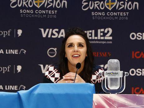 Джамала прокомментировала решение провести «Евровидение-2017» вКиеве