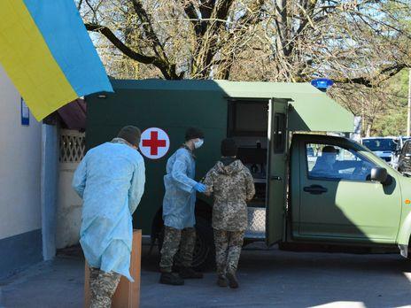За день коронавирус обнаружили у семи украинских военных