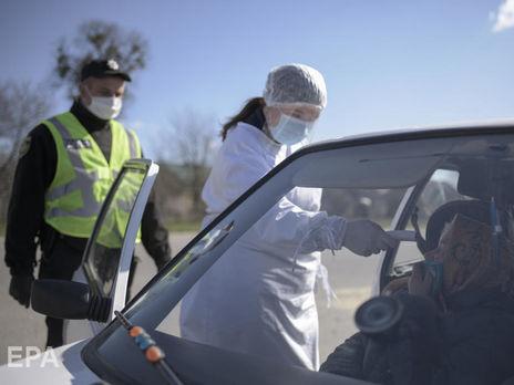 С 16 апреля на въездах в Киев будут измерять температуру