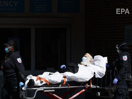 В Нью-Йорке зарегистрировано наименьшее количество смертей от коронавируса за две недели