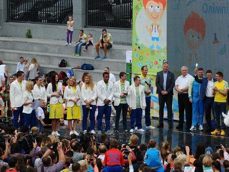 Украинцам-медалистам Олимпиады выплатили по300, 200 и120 тыс. грн