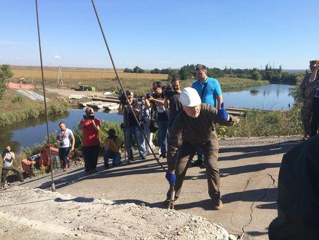 Наремонт дорог наДонбассе выделят 135 млн грн