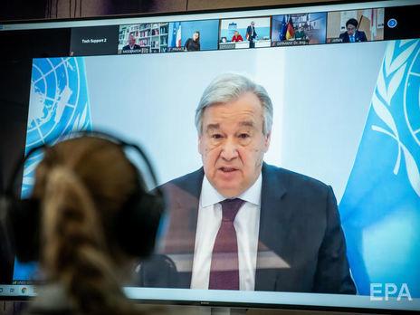 ООН объявила сбор средств на вакцину от коронавируса. За первый день страны пообещали предоставить €7,4 млрд