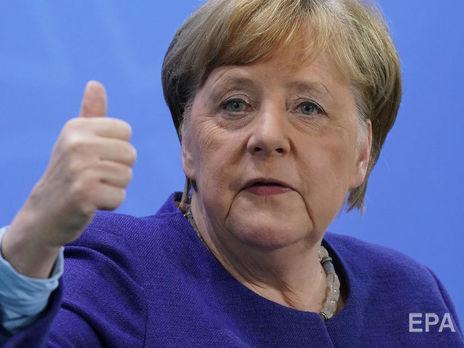 Меркель заявила, что Германия преодолела первый этап эпидемии коронавируса
