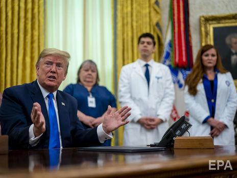 Трамп заявил, что коронавирус хуже, чем Перл-Харбор и атаки 11 сентября