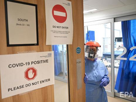 Суточные потери от коронавируса в Великобритании продолжает падать