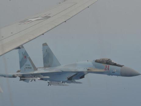Российские истребители перехватили американский самолет-разведчик