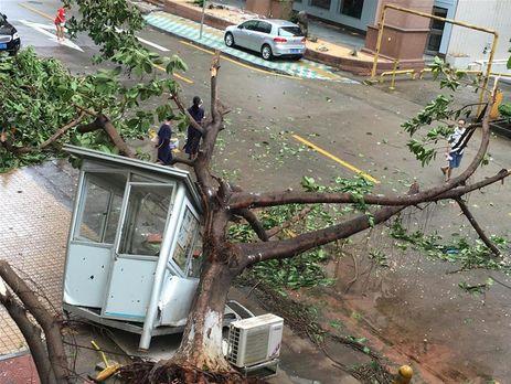 Супертайфун «Меранти» обвалился навосточные провинции Китая