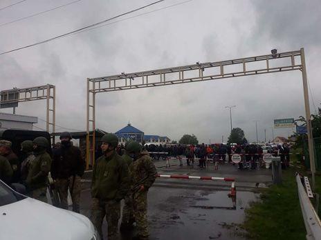 С утра 31 мая проезд через пункт пропуска на венгерской границе был невозможен