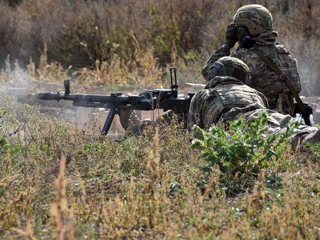 В мае украинские военнослужащие уничтожили семь единиц техники противника