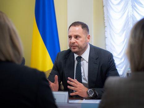 Ермак объяснил немецкому изданию, кто со стороны ОРДЛО может участвовать в переговорах в Минске