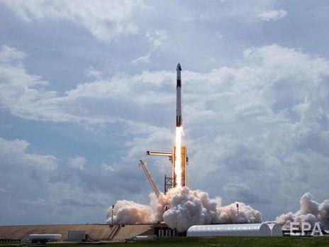 """Заявления """"Роскосмоса"""" появилось после того, как SpaceX вывела на околоземную орбиту корабль Crew Dragon с двумя астронавтами на борту"""