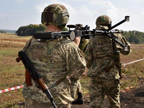В ответ силы ООС открывали прицельный огонь по вражеским опорным пунктам