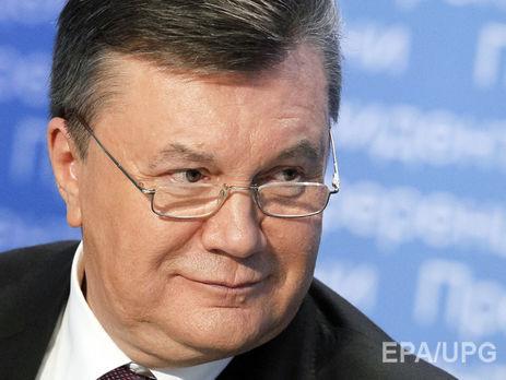 Янукович призвалЕС ввести санкции против «преступной» власти Украинского государства