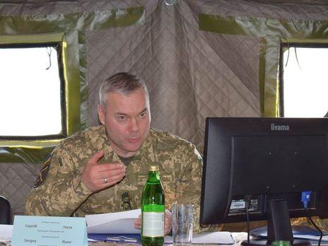 Наев сообщил, что цель учений подготовка военных к отражению масштабного вторжения в страну