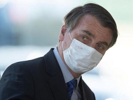 Болсонару также подверг критике позицию ВОЗ по отношению к гидроксихлорохину