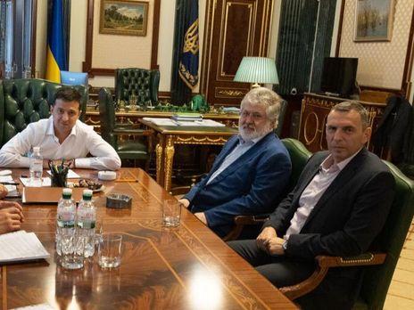 """Надо что-то сделать с тарифами"""". Зеленский рассказал, что Коломойский  иногда пишет ему смс / ГОРДОН"""