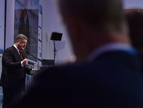 Порошенко: Украина несделает шага вперед, покаРФ не исполнит обязательства