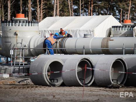"""США планируют внести законопроект, который расширит санкции против трубопровода """"Северный поток 2""""."""