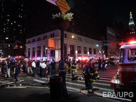 Количество пострадавших отвзрыва вНью-Йорке выросло до 29