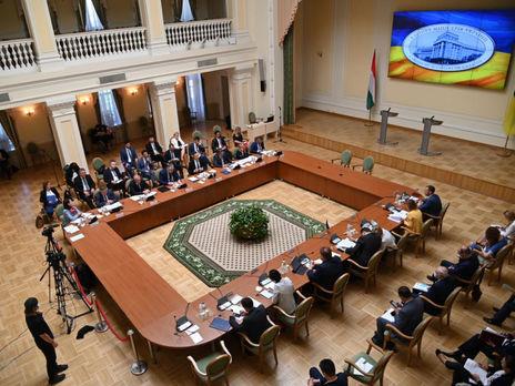 Міжурядова українсько-угорська економічна комісія провела перше із 2013 року засідання