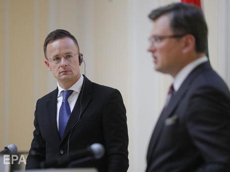 Венгрия сказала , когда откроет все пункты пропуска с Украинским государством