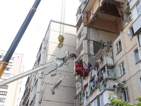 Квартиры на четырёх этажах разрушило взрывом