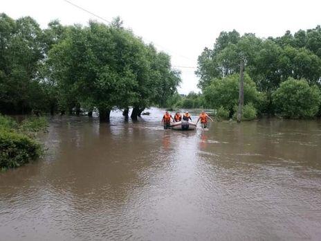 Чотири області України постраждали від повені