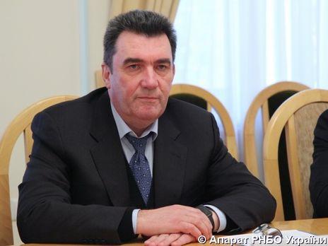 Данілов брав участь у нараді з питань епідемії