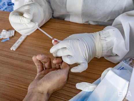 Во Львовской области наибольшее число новых случаев COVID-19. За последние сутки 173