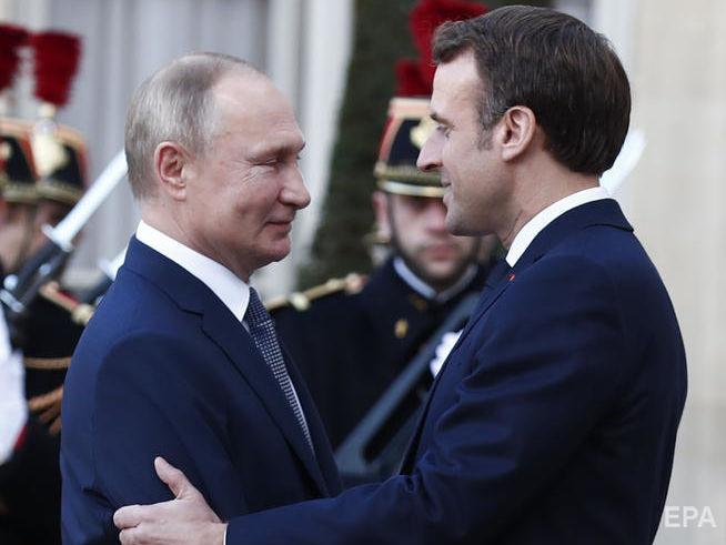 Макрон поедет к Путину на переговоры по безопасности, региональным кон