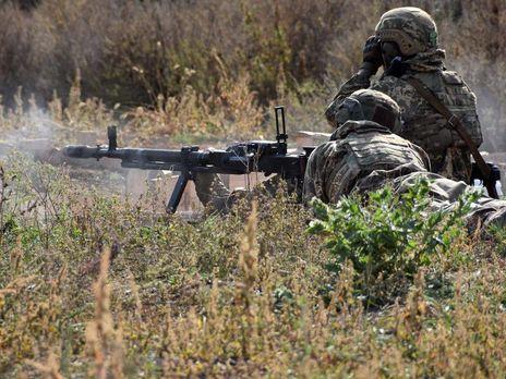 Силы ООС открывали по российским оккупантам ответный огонь