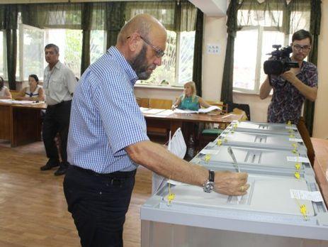 Свыше 40% избирателей проголосовали вКрыму иСевастополе