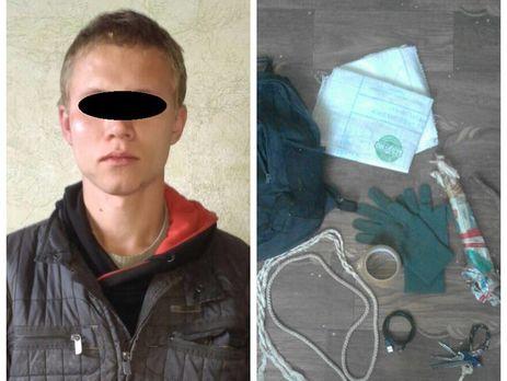 ВМариуполе парень попытался задушить полицейского, охраняющего стратегический объект