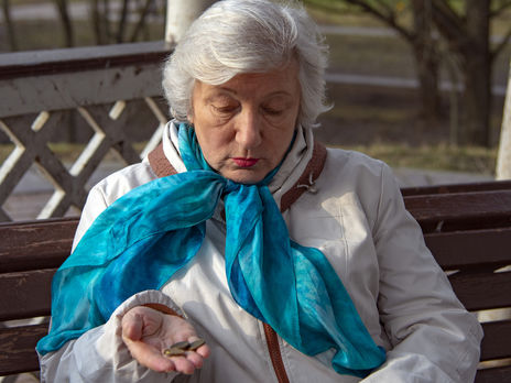 Всего в Украине более 11,2 млн пенсионеров