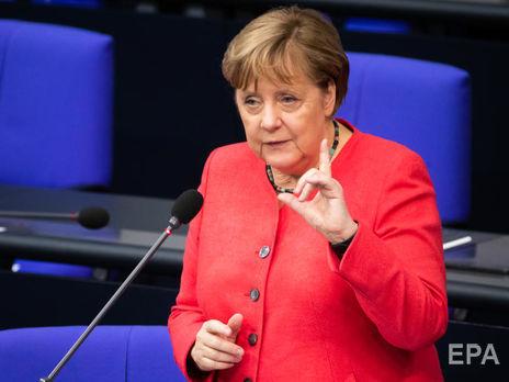 """Меркель назвала """"Северный поток 2"""" экономическим проектом, """"у которого есть политическая составляющая"""""""