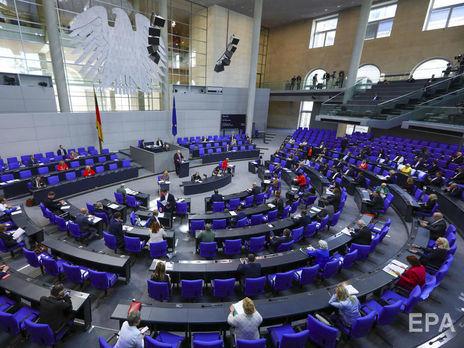 В парламенте Германии закон поддержали 314 депутатов, 237 высказались против