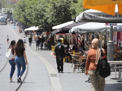 В Ізраїлі посилили вимоги до ресторанів та збільшили штраф для тих, хто не носить маску