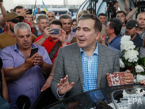 Саакашвили: Путин не обращается с тобой как политик с политиком Путин вербует