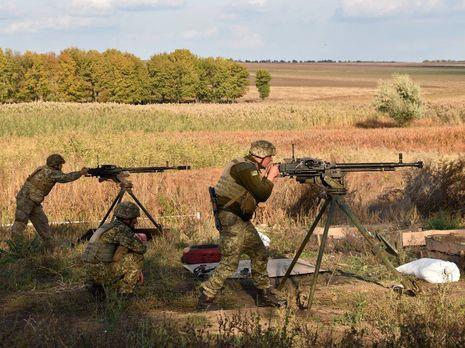 Украинские военные за прошедшие сутки ликвидировали восемь российских оккупантов – штаб ООС