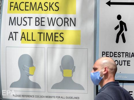 В США рекорд по суточному приросту инфицированных коронавирусом. Главный инфекционист считает, что ситуация вышла из-под контроля