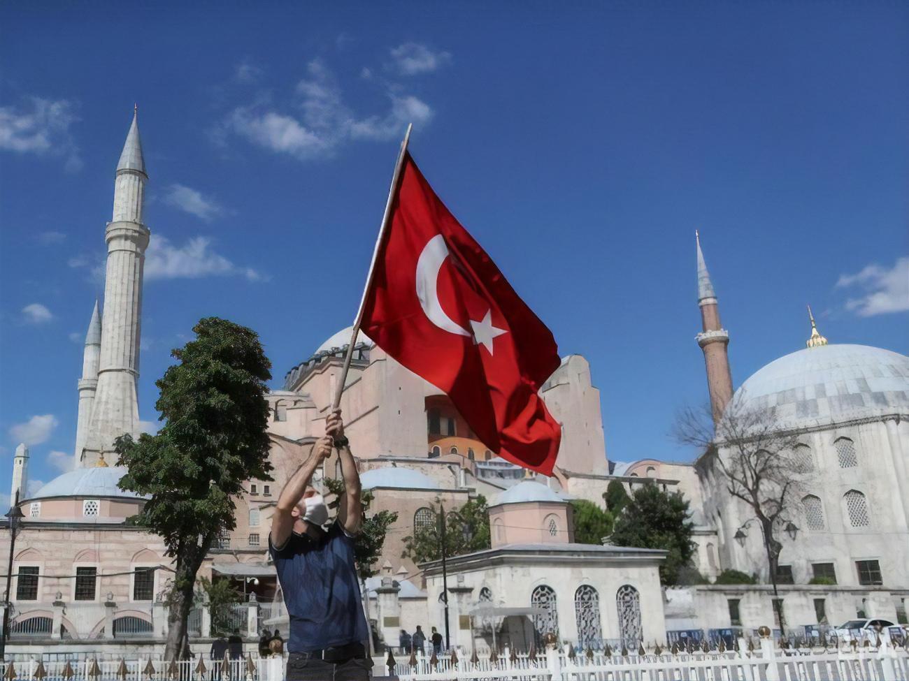 """Картинки по запросу """"Habertürk (Турция): проблема имама Айя-Софии фото"""""""