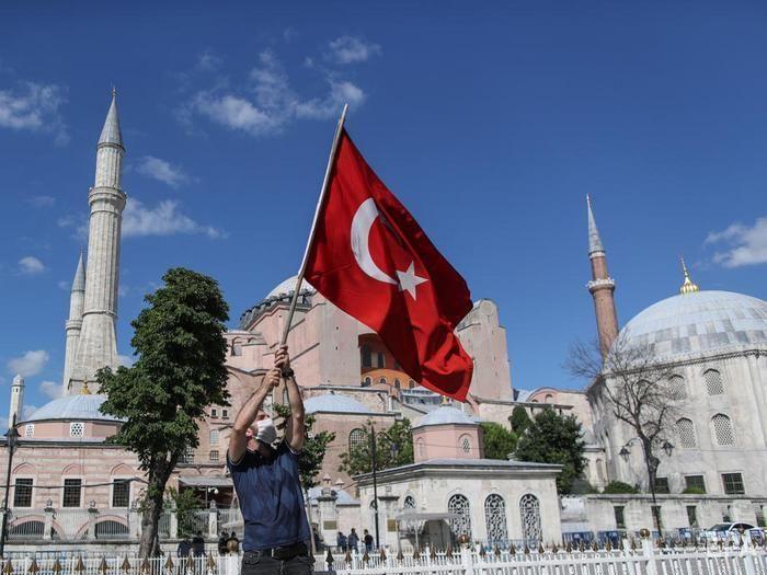 Ердоган про статус Айя-Софії: Думка інших країн не вплине на наше рішення