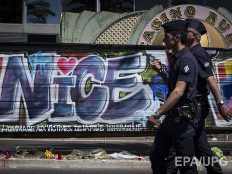 Теракт вНицце: милиция задержала еще восемь человек