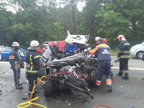 Унаслідок аварії, яка сталася 12 липня, загинуло четверо людей, зокрема двоє дітей