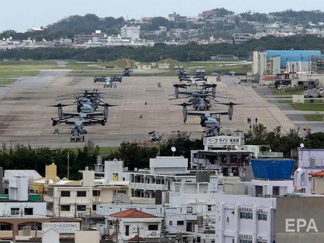 Авиабазы на Окинаве перешли в режим изоляции