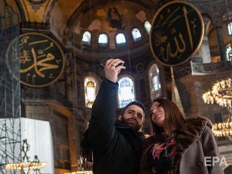 Религиозные церемонии в мечети Айя-София планируют возобновить 24 июля